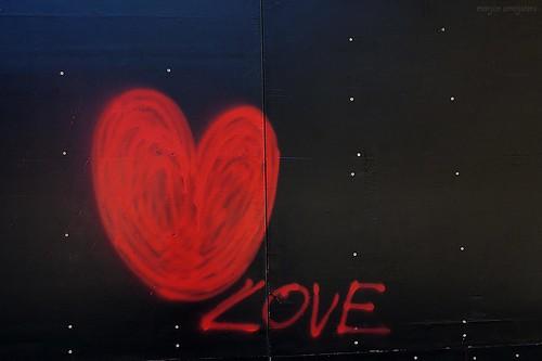 Love Streetart Ghent, Belgium