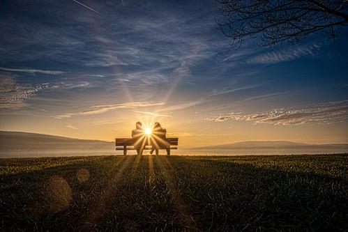 Sunset at Lake Constance - Germany/Switzerland