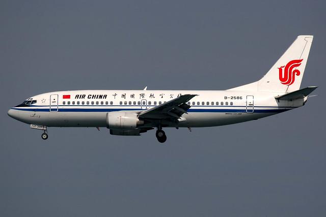 Air China | Boeing 737-300 | B-2586 | Hong Kong International