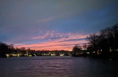Sunset on Lake Anne