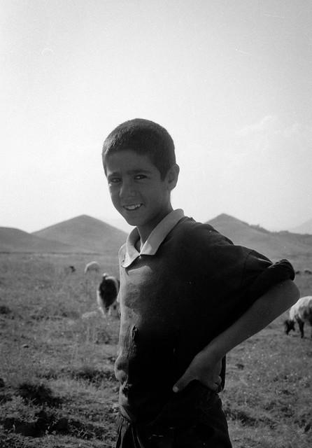 Shepherd Boy - Kurdistan - Turkey 1990