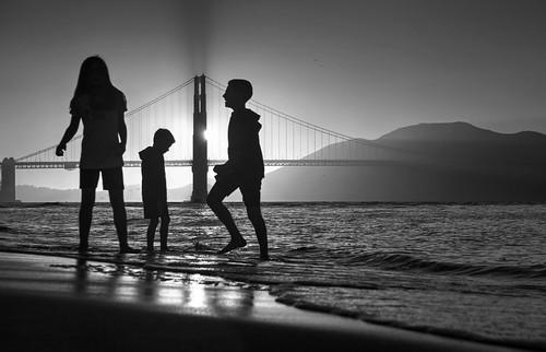 Playtime near the Golden Gate