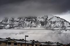 Cloud, Mountain, Cloud, Condos