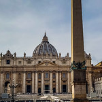 Rome - Vatican Basilica & Obelisk - https://www.flickr.com/people/73261304@N08/
