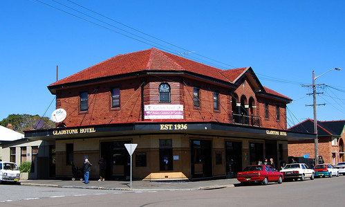 Gladstone Hotel, Stockton, Newcastle, NSW.