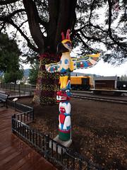 Snoqualmie Totem Pole, 1936 Washington