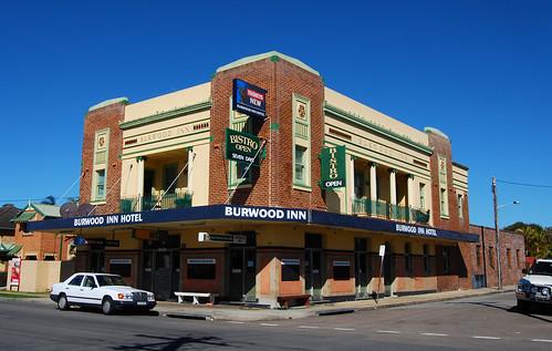 Burwood Inn Hotel, Merewether, Newcastle, NSW.