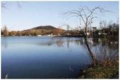 fin d'après midi au lac