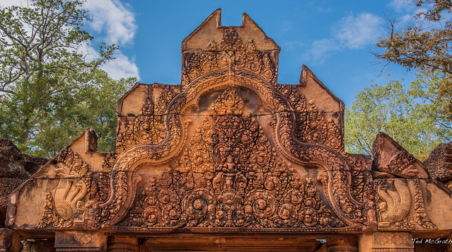 Photo:2019 - Cambodia - Siem Reap - Banteay Srei - 4 - 2 of 3 By Ted's photos - For Me & You