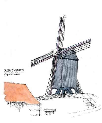 Oostvleteren, moulin