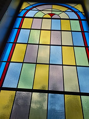 Window At Church.