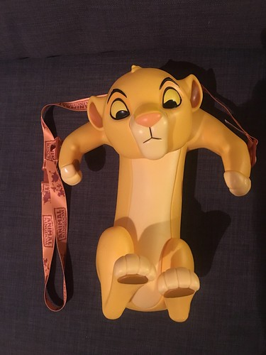 2020 Disney Parks The Lion King Simba Popcorn Bucket (Animal Kingdom Version)