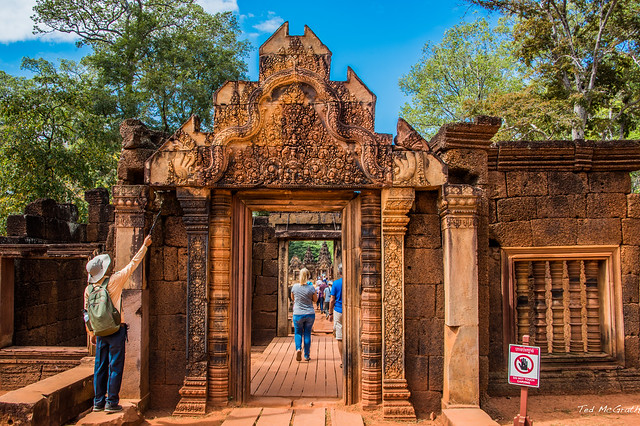 Photo:2019 - Cambodia - Siem Reap - Banteay Srei - 3 - 1 of 3 By Ted's photos - For Me & You
