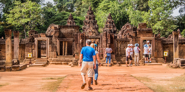 Photo:2019 - Cambodia - Siem Reap - Banteay Srei - 6 By Ted's photos - For Me & You