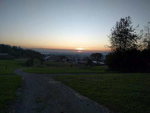 View over Baar