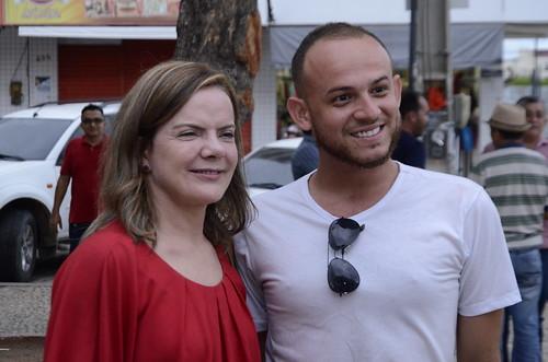 Aniversário e festival do PT em Quixadá