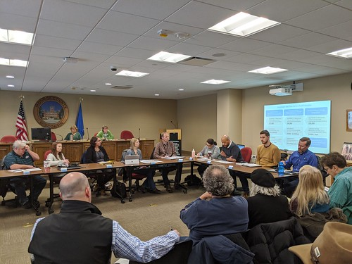 2020 Climate Change Task Force Tour and Meeting