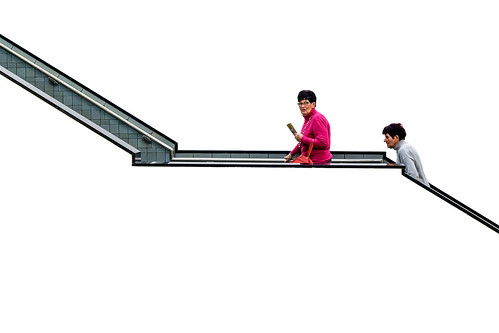 People on White