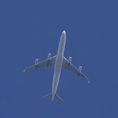 Air X Charter Airbus A340-312 OSL-STN FL130 9H-BIG