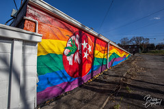 Weiss Liquors East Nashville Tomato Arts Gay Pride Mural