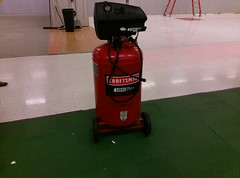 Lonely air compressor :(