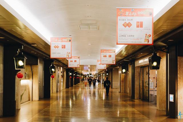 冷清的台北地下街K