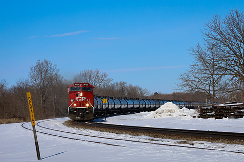 Canadian Pacific Oil Train