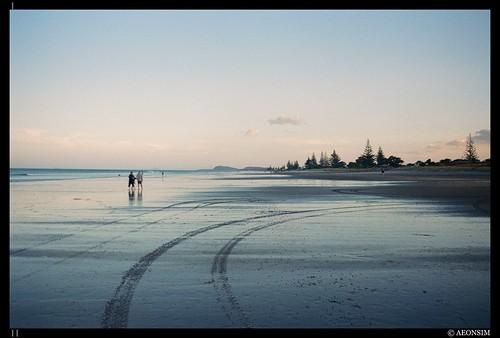 Waihi beach - Dusk