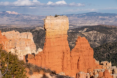 Red Stone Wall Towering