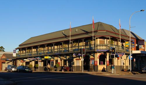 Lemon Grove Hotel, Wallsend, Newcastle, NSW.