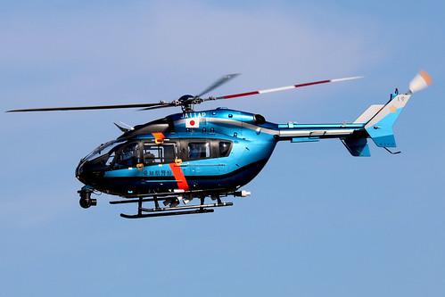 JA11AP MBB-Kawasaki BK-117 C2 National Police Agency  NKM