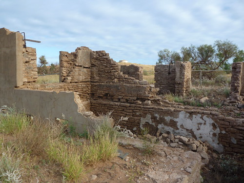 Ruins and cellar of the North West Mercantile Store