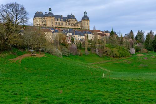 Hautefort Chateau, Dordogne, France