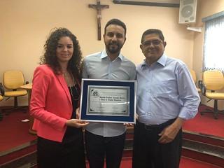 Deputado Alexandre Pereira ganha título de Cidadão Honorário de Ibitinga