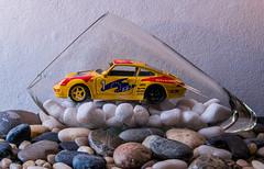 Porsche im Glas,