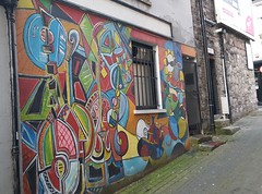 Artwork on Toberorum Lane, off Ludlow Street, Navan