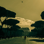Via dei Fori Imperiali - https://www.flickr.com/people/92228825@N06/
