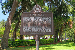 Sims Park, Entrance to New Port Richey, FL (5 of 7)