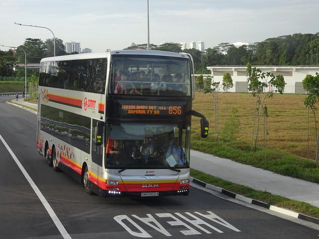 MAN A95 ND323F | Gemilang | SMRT Buses | SMB 5902 A