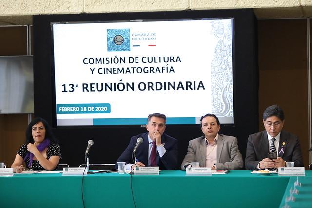 18/02/2020 Comisión de Cultura y Cinematografía