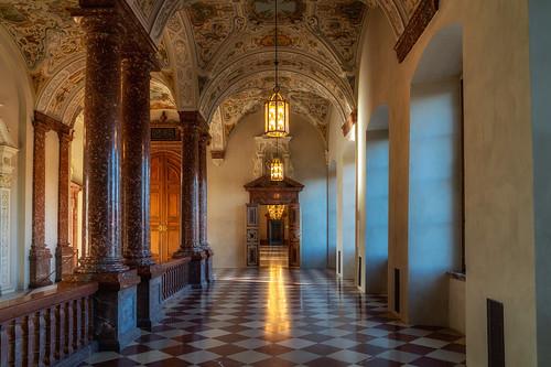 Flur in der Residenz München