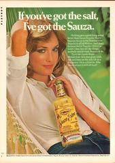 1976 Sauza Extra Tequila Advertisement Playboy December 1976