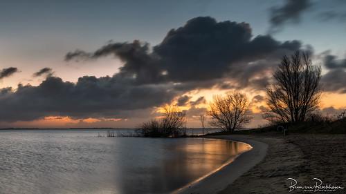 Long exposure before sunrise