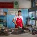 Cook, Wat Dong Mun Lek Beef Noodle, Bangkok Noi