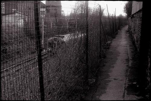 Le long du chemin de fer à Farciennes
