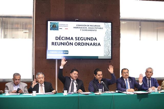 19/02/2020 Comisión de Recursos Hidráulicos