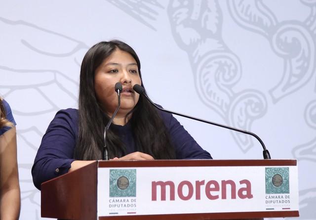 Conferencia De Prensa Diputada Maite Vargas