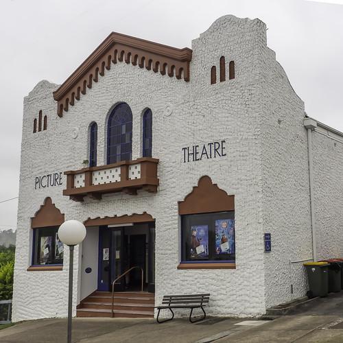 Dungog Cinema aka James Theatre - built 1914 - 1930 - see below