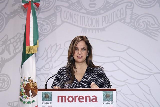 18/02/2020 Conferencia De Prensa Diputada Lorena Villavicencio