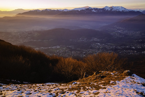 Luganese, visto dall'Alpe Bolla - Ticino - Svizzera